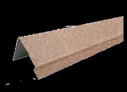 ТЕХНОНИКОЛЬ HAUBERK наличник оконный металлический LUX, античный, шт.