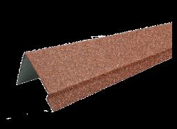 ТЕХНОНИКОЛЬ HAUBERK наличник оконный металлический LUX, красный, шт.