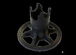 Фиксатор арматуры на сыпучие грунты ФС-40/45 усиленный (150 шт/упак.)