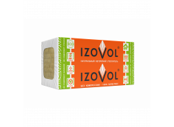 Утеплитель IZOVOL Ст-75, 1200Х600Х50 мм, (8 плиты, 5,76 кв.м)