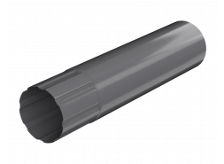 ТН МВС, труба d 90 мм, 1 м.п., графитово-серая