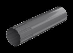 ТН МВС, труба d 90 мм, 3 м.п., графитово-серая