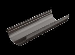 ТН МВС, желоб водосточный 125 мм, 3 п.м, тёмно-коричневый