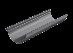 ТН МВС, желоб водосточный 125 мм, 3 п.м, графитово-серый
