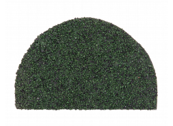Заглушка конька полукруглого LUXARD Абсент, 95х148 мм, (радиус 74 мм)