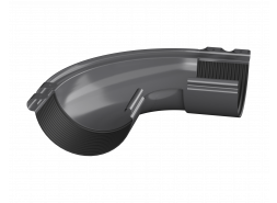 ТН МВС, внешний угол 90°, графитово-серый