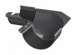 ТН МВС, внутренний угол 90°, графитово-серый