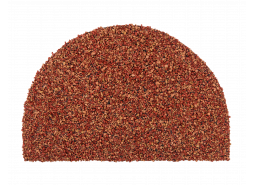 Заглушка конька полукруглого LUXARD Коралл, 95х148 мм, (радиус 74 мм)