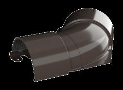 ТН МВС, угол желоба внутренний 135°, тёмно-коричневый