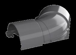 ТН МВС, угол желоба внутренний 135°, графитово-серый