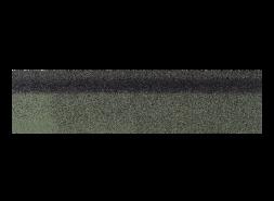 Коньки-карнизы SHINGLAS Зеленый экстра 253х1003 мм (20 гонтов, 20 пог.м, 5 кв.м)