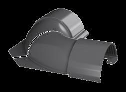 ТН МВС, угол внутренний, регулируемый 100 -165°, графитово-серый