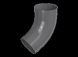 ТН МВС, колено трубы 60°, графитово-серое