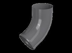 ТН МВС, отвод трубы, графитово-серый