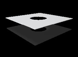 Фартук из ПВХ мембраны для воронок