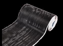 Гофрированная лента LUXARD для примыканий F-2, алюм., черная