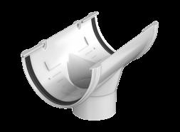 ТН ПВХ D125/82 мм воронка желоба, белая