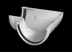 ТН ПВХ D125/82 мм угол желоба 90°, белый