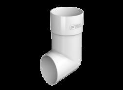 ТН ПВХ D125/82 мм слив трубы, белый