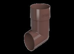 ТН ПВХ D125/82 мм слив трубы, коричневый