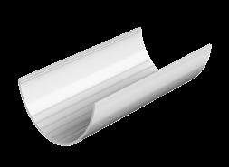 ТН ПВХ D125/82 мм желоб (3 м), белый