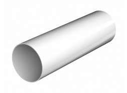 ТН ПВХ D125/82 мм труба (3 м), белая