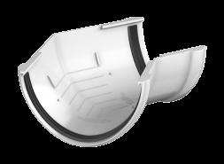 ТН ПВХ D125/82 мм угол желоба 135°, белый