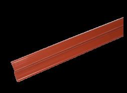LUXARD Прижимная планка (планка примыкания), красная, 2000х85 мм, (0,17 кв.м)