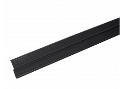 LUXARD Прижимная планка (планка примыкания), чёрная, 2000х85 мм, (0,17 кв.м)