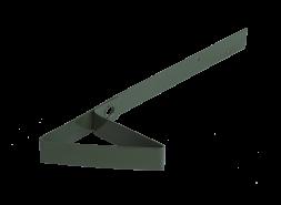 Снегозадержатель для мягкой кровли RAL 6020, зеленый