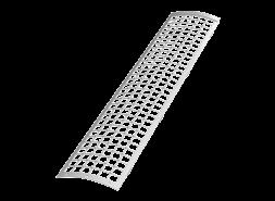 ТН ПВХ D125/82 мм решетка желоба защитная 0,6м, белая