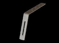 ТН ПВХ удлинитель кронштейна прямой металлический