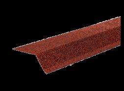 ТЕХНОНИКОЛЬ Планка карнизная с гранулятом, красный, шт.