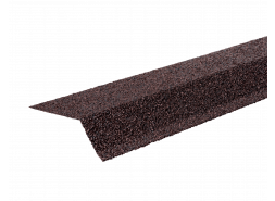 ТЕХНОНИКОЛЬ Планка карнизная с гранулятом, коричневый, шт.