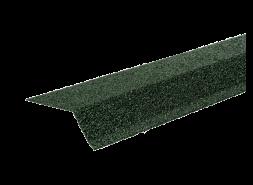 ТЕХНОНИКОЛЬ Планка карнизная с гранулятом, зеленый, шт.