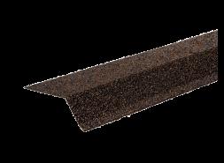 ТЕХНОНИКОЛЬ Планка карнизная с гранулятом, светло-коричневый, шт.