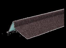 ТЕХНОНИКОЛЬ Планка торцевая с гранулятом, правая, коричневый, шт.
