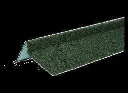 ТЕХНОНИКОЛЬ Планка торцевая с гранулятом, правая, зеленый, шт.