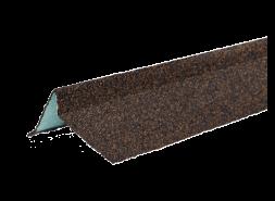 ТЕХНОНИКОЛЬ Планка торцевая с гранулятом, правая, светло-коричневый, шт.