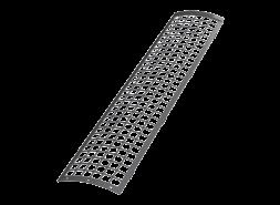 ТН ПВХ D125/82 мм решетка желоба защитная 0,6м, серая