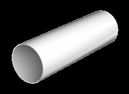 ТН ПВХ D125/82 мм труба (1,5 м), белая