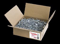 Удлиненные ершеные гвозди оцинкованные SHINGLAS, 45х3,5 мм, 5 кг