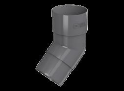 ТН ПВХ D125/82 мм колено трубы 108°, серое