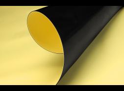 ПВХ мембрана LOGICBASE V-SL, 1,5 мм (2,05x20 м), жёлтая, рул
