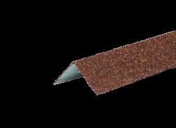 ТЕХНОНИКОЛЬ HAUBERK уголок металлический внешний, терракотовый