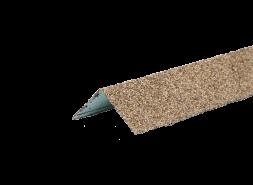 ТЕХНОНИКОЛЬ HAUBERK уголок металлический внешний, песчаный