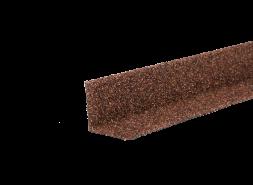 ТЕХНОНИКОЛЬ HAUBERK уголок металлический внутренний, терракотовый