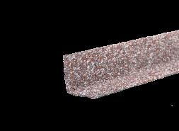ТЕХНОНИКОЛЬ HAUBERK уголок металлический внутренний, мраморный