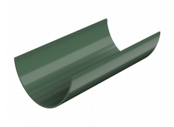 ТН ПВХ D125/82 мм желоб (3 м), зеленый