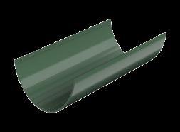 ТН ПВХ D125/82 мм желоб (1,5 м), зеленый